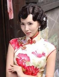 Bride ~ Chinese Gown for Rehearsal Dinner (courtesy of @Bobettefrl )
