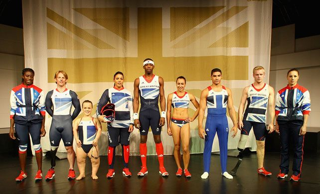 Team GB London olympics 2012 Kit Launch by Stella McCartney..