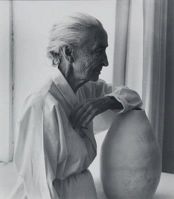 """Whether you succeed or not is irrelevant, there is no such thing. Making your unknown known is the important thing.""""  ― Georgia O'Keeffe  Laura Gilpin (1891-1979) - Portrait Georgia O'Keeffe"""
