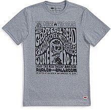 футболка, мужская, серая, с принтом