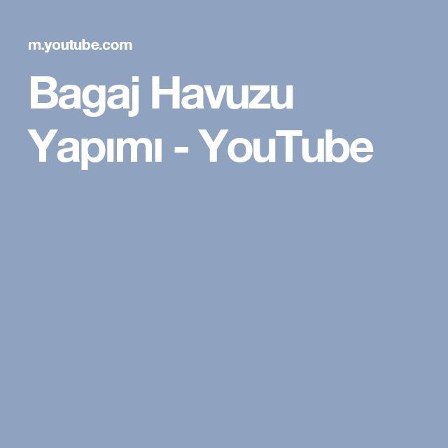Bagaj Havuzu Yapımı - YouTube