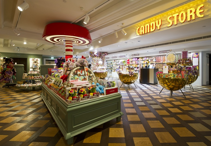 Candy store fourth floor harrods candy store candy
