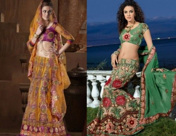 Indian Lehenga Choli Designs Collection 2011: Lehnga dress is prominent in the entire world. Lehnga is the favorite and loveable dress. Lehnga i