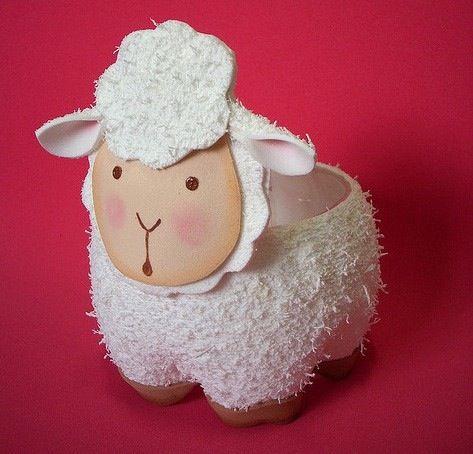 Dulcero de oveja con pet.