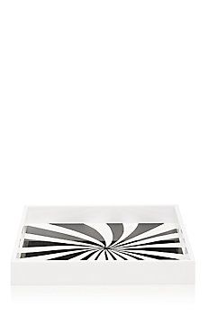 Lisa Perry Spiral-Optic Square Tray