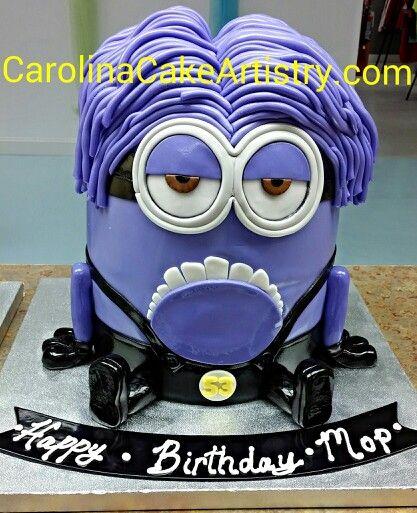 7 best Monster cake images on Pinterest Minion cakes Birthday