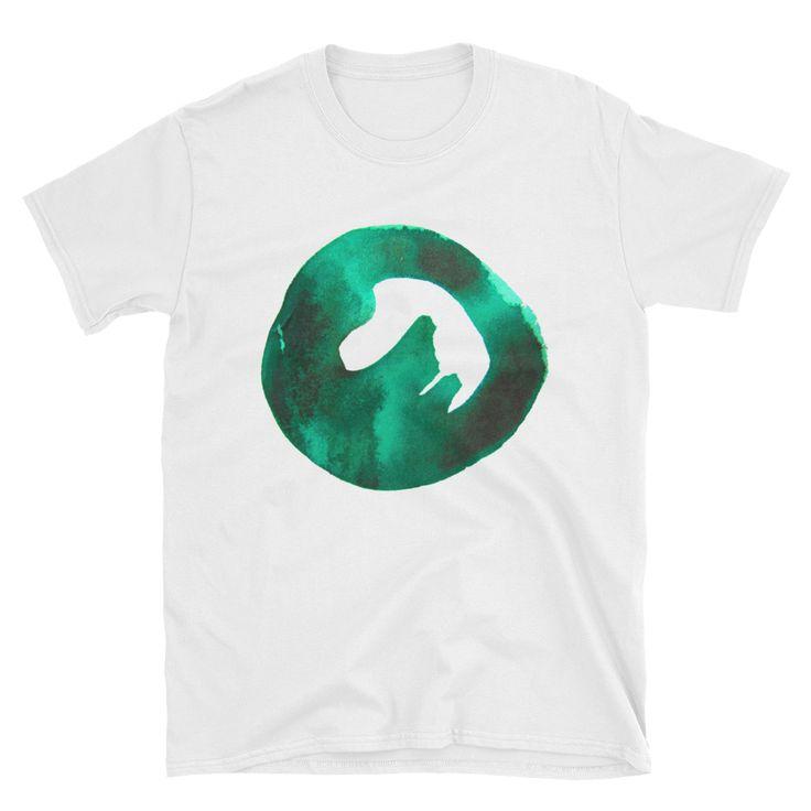 Round Emerald Short-Sleeve Unisex T-Shirt