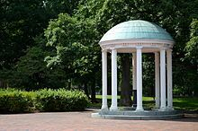 University of North Carolina at Chapel Hill - The Old Well, a symbol of the university, stands at the heart of the campus.