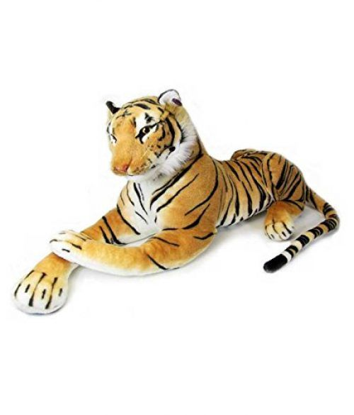 Deals on  Giant Stuffed Tiger Animal