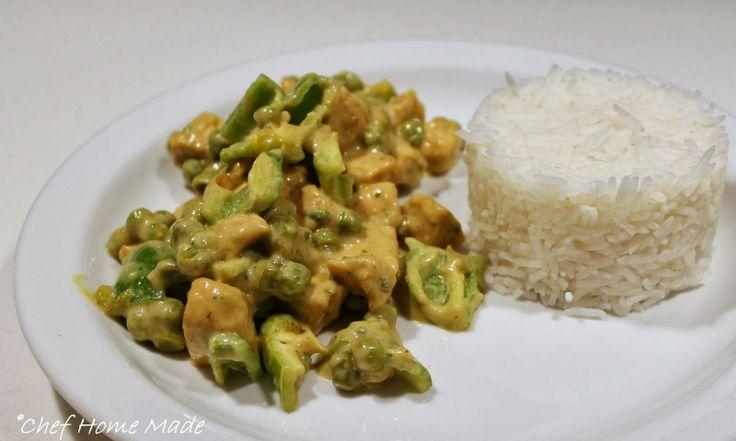 Pollo al curry versione Thai