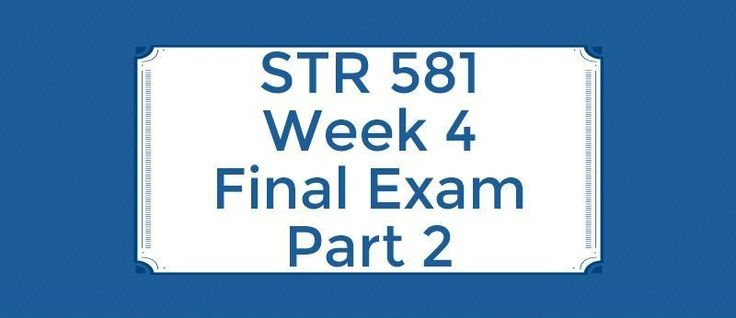 STR 581 Week 4 Final Exam Part 2==============================1. How firms estimate their cost of capital: The WACC for a firm is 13.00 percent. You know that the firm's cost of debt capital is 10 percent and the cost of equity capital is 20% What proportion of the firm is financed with debt?2. Ajax