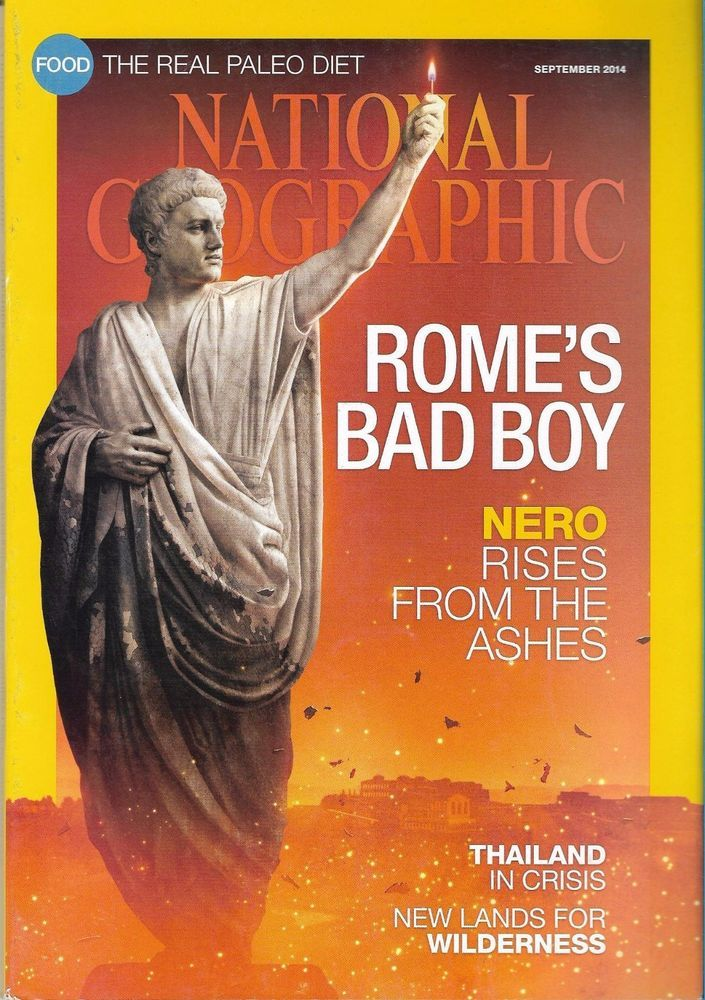 National Geographic September 2014 Rome Nero - Back Issue Magazine Collectible