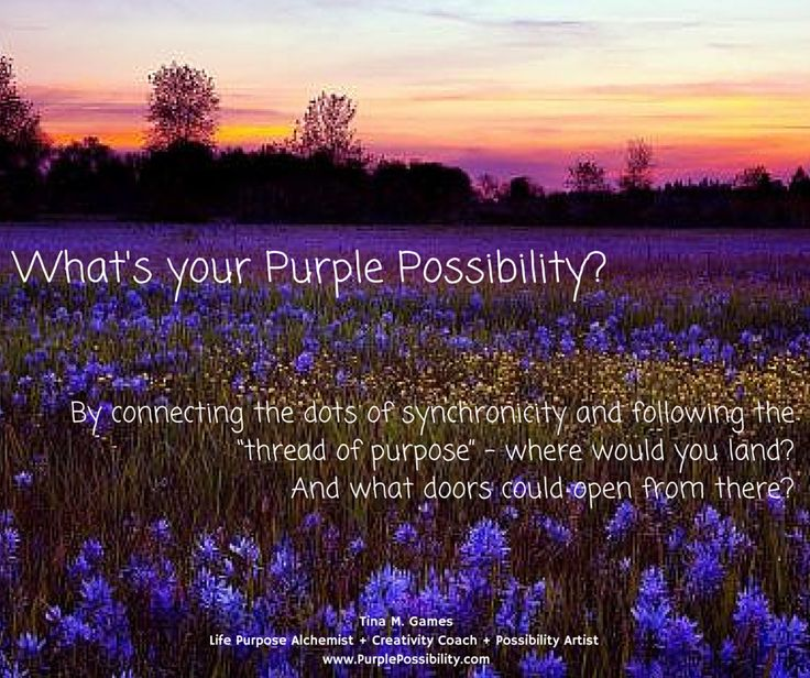 What's your Purple Possibility?