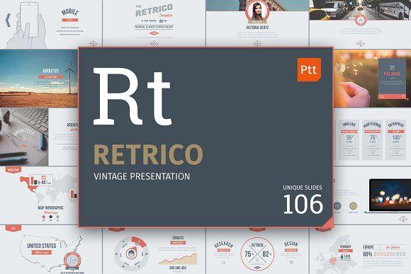 Retrico: vintage slides by TITO on @creativemarket