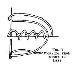 Armenian lace-making technique