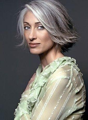 Стрижки для седых волос: превращаем седину в элемент стиля