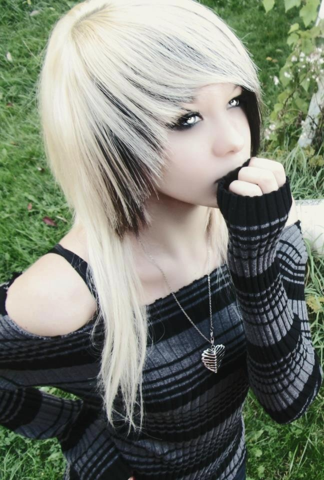 Emo Hairstyles For Thick Hair : Best 20 long emo hair ideas on pinterest scene emo