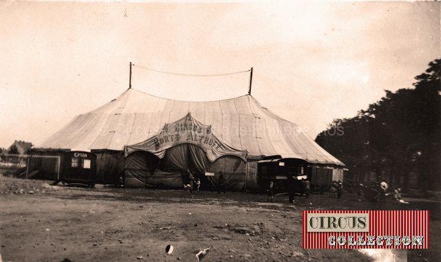 Circus collection: Circus Corty Althoff circa 1930