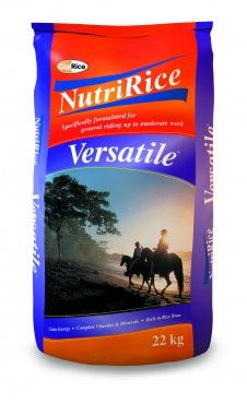 Coprice Nutririce Versatile 22kg - For recreational riding, pony club, competition and spelling horses *Cool, calm and sustained energy from rice and rice bran *Low starch and low GI formulation *High levels of Omega 6 fatty acids for healthy coat and skin