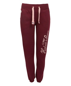 Dark Red (Red) Red Logo Print Jogger Bottoms | 260746861 | New Look - comfy and cheaper than hollister!