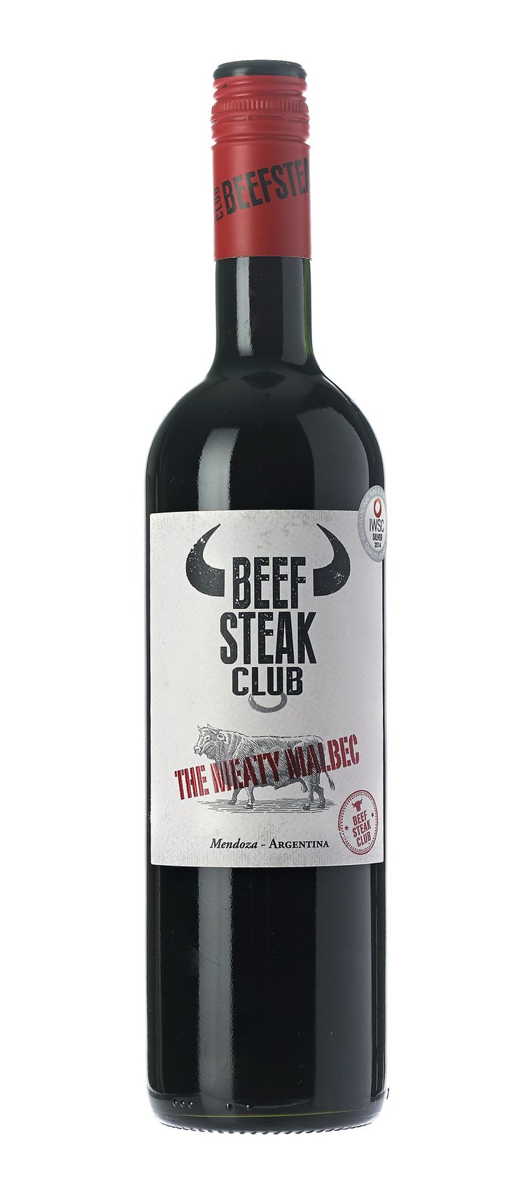 Beefsteak Club Malbec: The Meaty Malbec, Mendoza, Argentina, 2013. This deep, vibrant Malbec has an intense nose of plum and dark chocolate. Spicy, juicy and richly layered with well integrated oak and fine-grained tannins. Ideal with rich cheeses, spiced dishes and of course, juicy steaks.