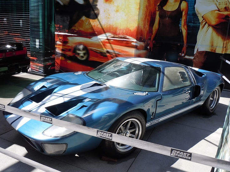 Fast Five  Ford Gt