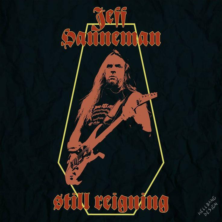 Jeff Hanneman Still Reigning… Artwork made by myself.