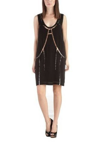 Diesel woman black dress - LuxuryProductsOnline
