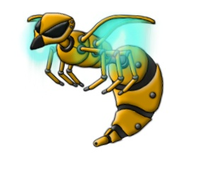 Game Art: The Insectoids' air unit  #superlumina