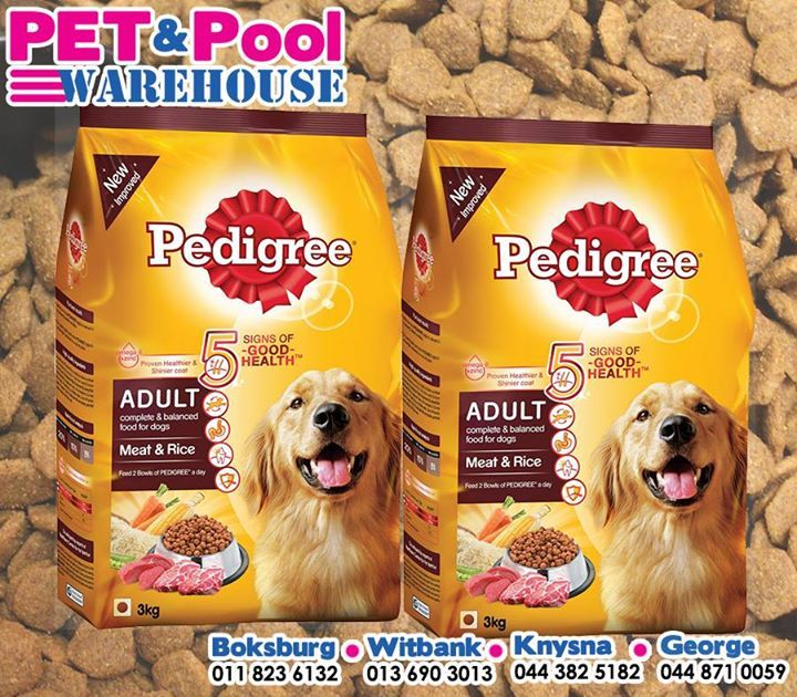 Start off your best buddy's week with assorted #Pedigree dog food from your nearest #PetPoolWarehouse outlet, packed with all the right nutrients and much more. #ilovemydog