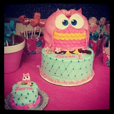 93 best Cakes with Owls images on Pinterest Owls Cake ideas and