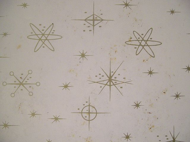 Atomic Pattern On Formica Table Top By Amandakill, Via Flickr