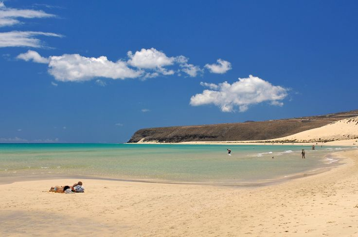 Fuerteventura is the second biggest of the Canary Islands.