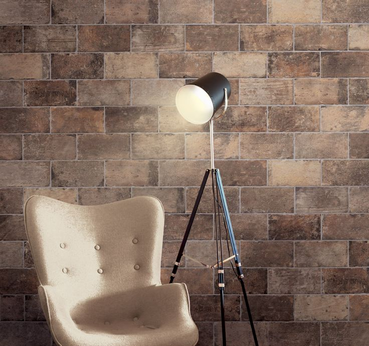 Gorgeous CHICAGO bricks for an incredibly warm feel for living areas.