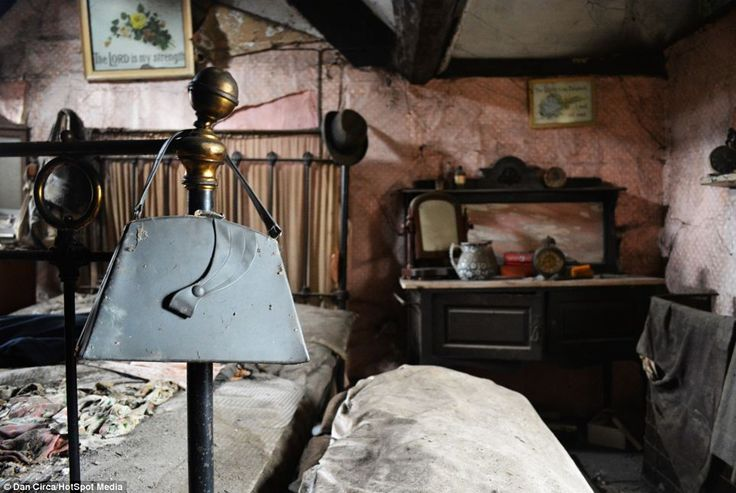 Atmospheric: Old Crow Cottage is in a state of disrepair but any prospective buyer would have to overcome the haunting atmosphere within the...