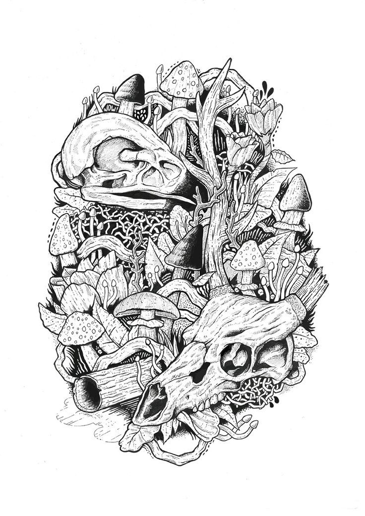 Mushroom Kingdom Coloring Pages Colouring Adult Detailed