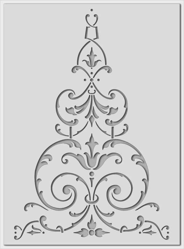 Wandgestaltung Schablonen Vorlagen 33 Fabelhaft Sie Konnen Einstellen Fur Ihre Wichtigsten Kr In 2020 Damask Stencil Stencil Decor Stencil Painting