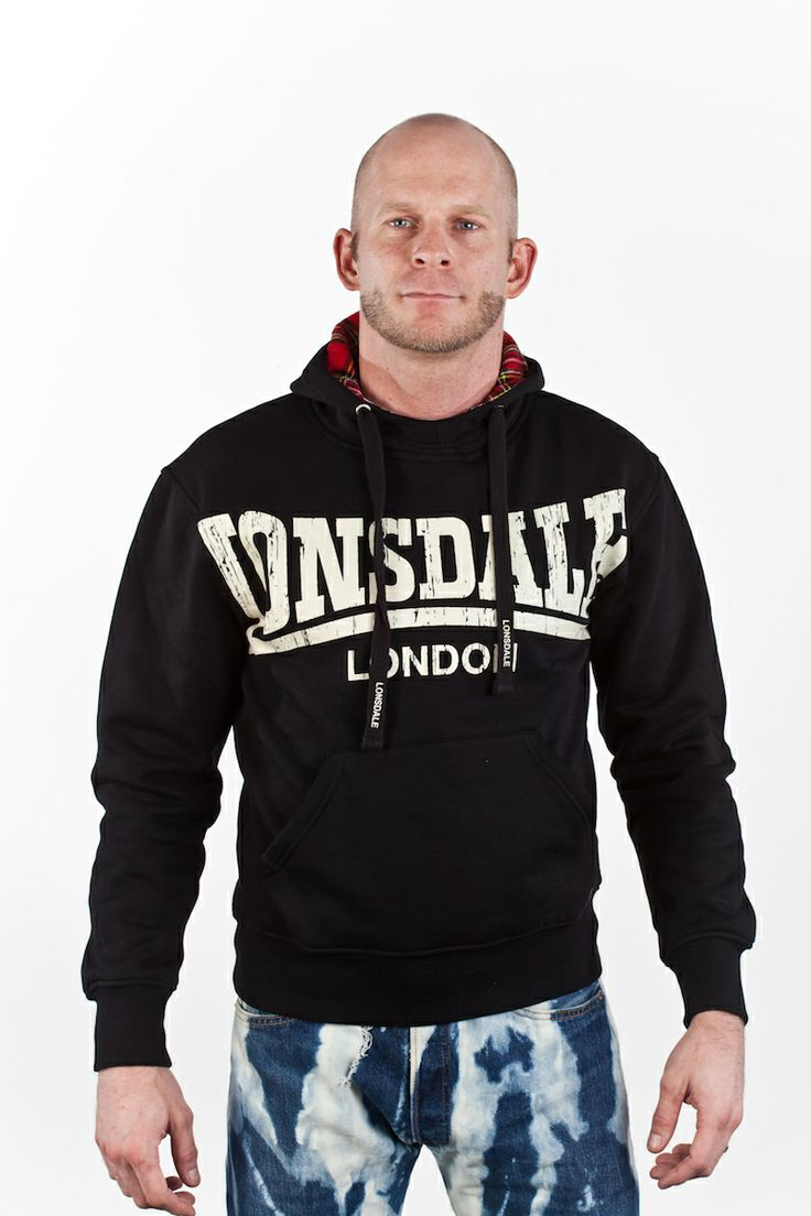 In Stock: Lonsdale 'Whitechapel' Sweatshirt: Reduced to £30:  Yet another of our favourites from Lonsdale, this is a premium quality hooded sweatshirt that looks excellent with jeans, boots and a flight jacket.  The sweatshirt features a big Lonsdale logo as a chest print and the hood is lined with the typical Harrington tartan material and has a windstopper at the front.  Available in Medium, X Large and XX Large…Find out more…http://bit.ly/1k2KbW4…
