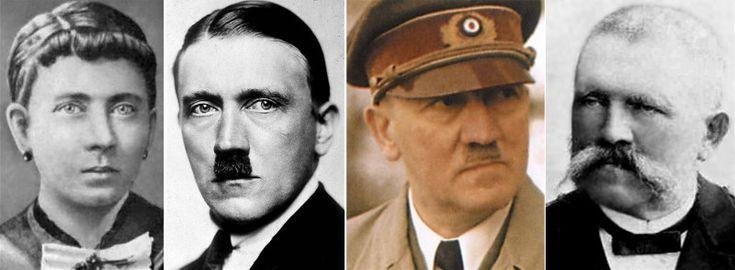 Klara, Adolf and Alois Hitler