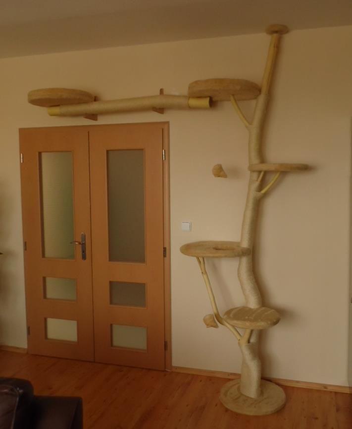 diy cat tree   DIY Cat Tree