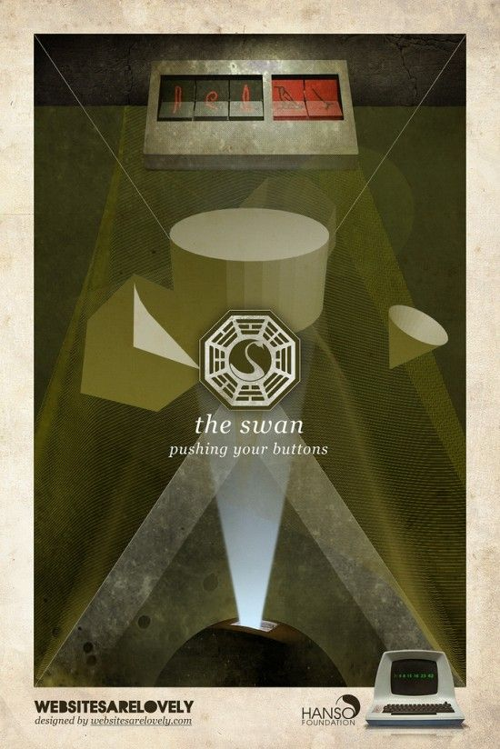 LOST DHARMA Initiative stations posters | COOL ART ...