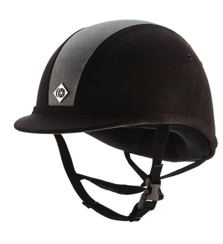 Charles Owen YR8 Horse Riding Hat Low profile Helmet Headwear PAS015.2011 Sz 7