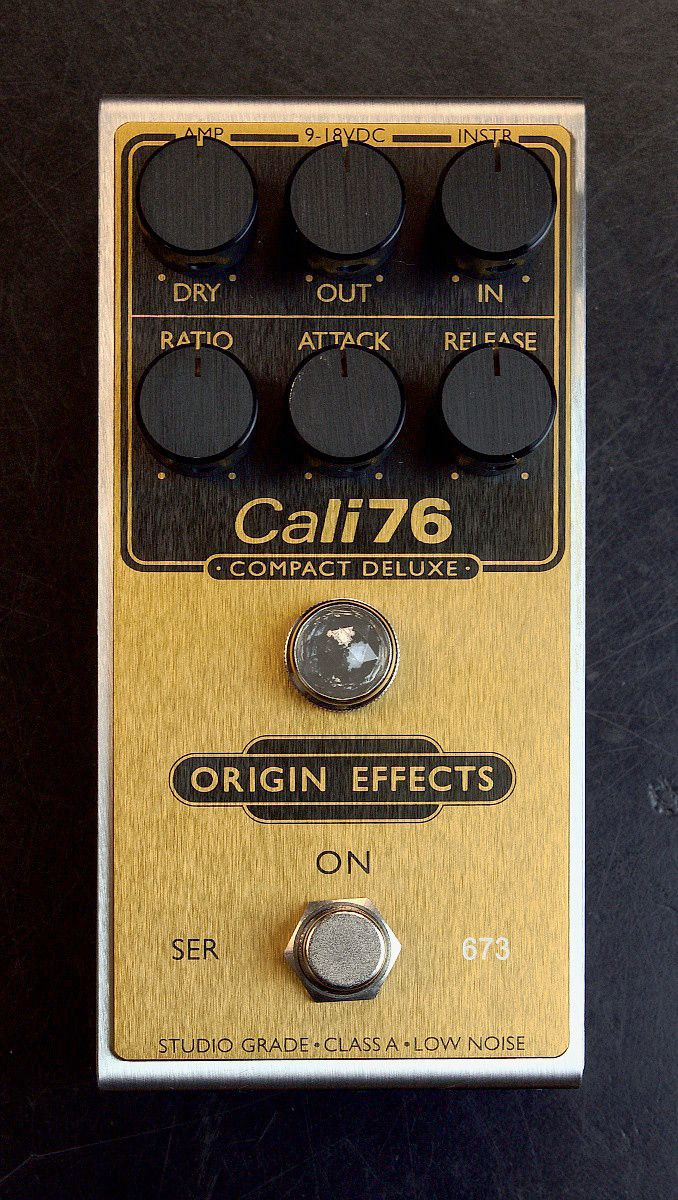 Origin Effects Cali76 Compact Deluxe Limited Edition Gold **Pre-Order** // O M G
