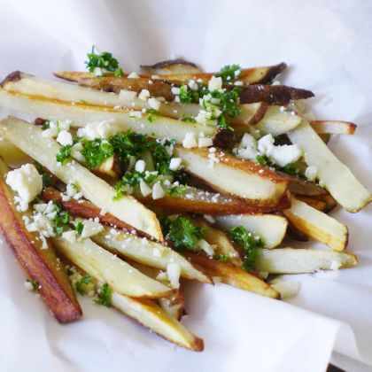 Everyone loves Garlic Fries!