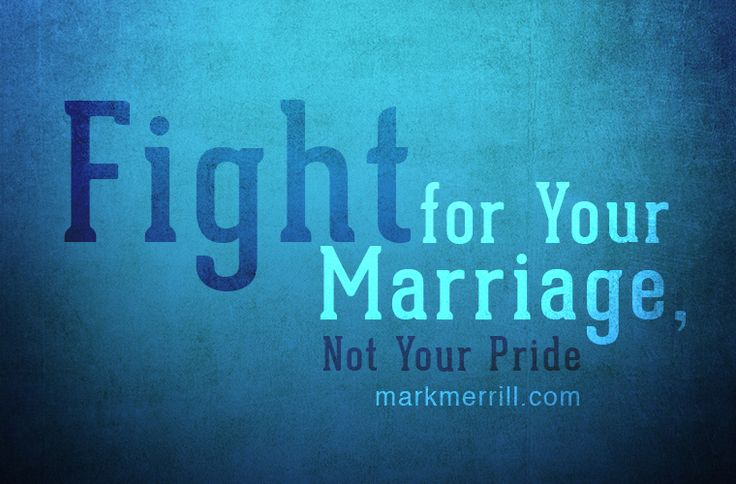 Are you fighting for your marriage or your pride? #marriageadvice #familyfirst