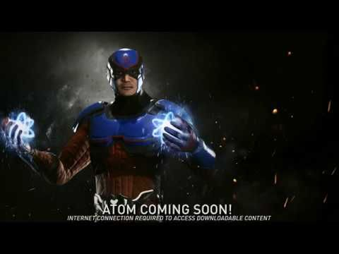 VIDEO GAMES: INJUSTICE 2 Introduces THE ATOM As The Latest Addition To The DC Fighter