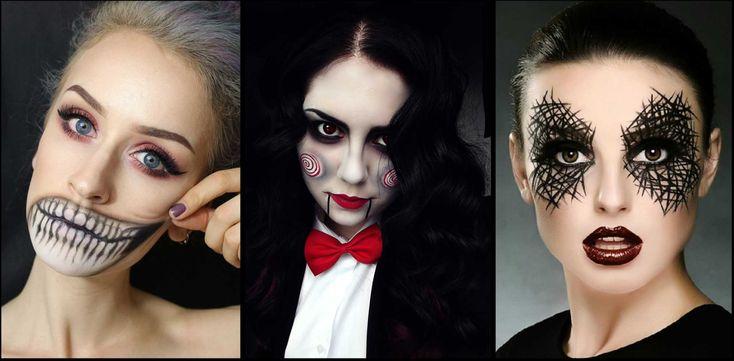 Как сделать макияж на Хэллоуин самому поэтапно в домашних условиях