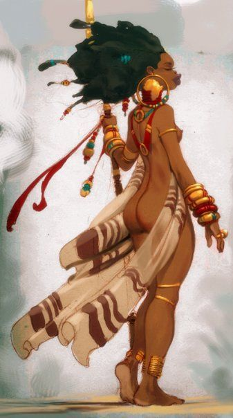 Oxum <3     african goddess