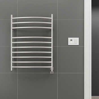 Ancona Comfort 10S Electric Towel Warmer and Drying Rack