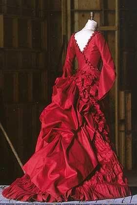 """The original """"Mina"""" dress designed by Eiko Ishioka. Exquisite..."""